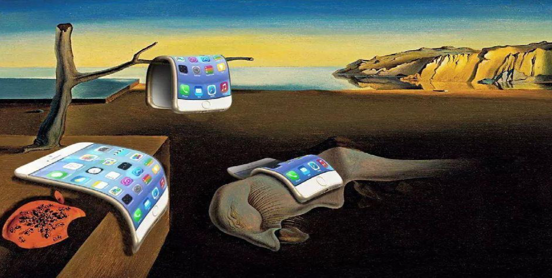 Persistence of memory ipads