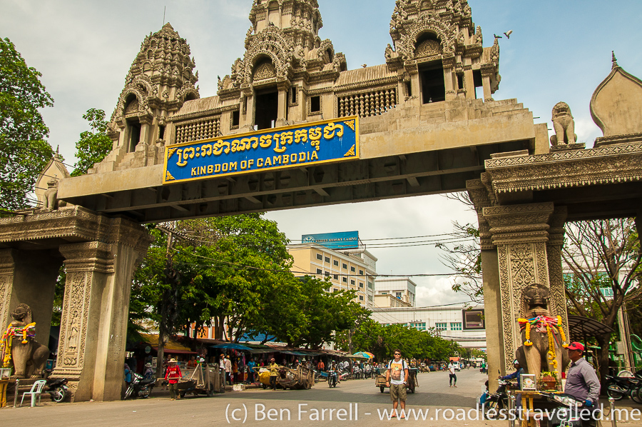 Crossing The Thai Cambodia Border Overland By Bus 187 Road Less Travelled